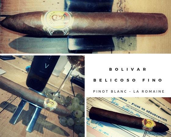 Epicuriens du Chablais - Bolivar Belicoso Fino