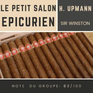 Le Salon des Epicuriens - H. Upmann Sir Winston