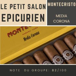 Le Salon des Epicuriens - Montecristo Media Corona