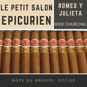 Le Salon - Romeo y Julieta Wide Churchill