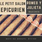 Le salon des Epicuriens - Romeo y Julieta Belicosos