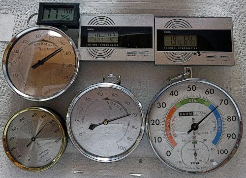 Epicuriens du Chablais Association - Calibrage d'un hygromètre